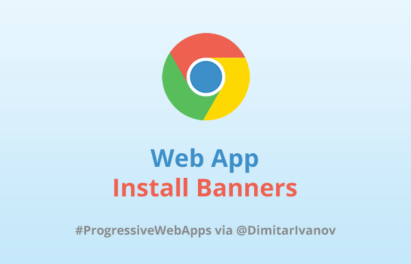 Web App Install Banners