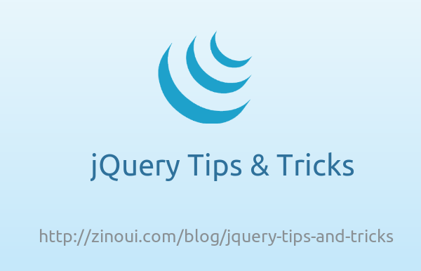 jQuery Tips and Tricks
