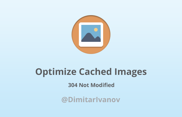 Optimize cached images