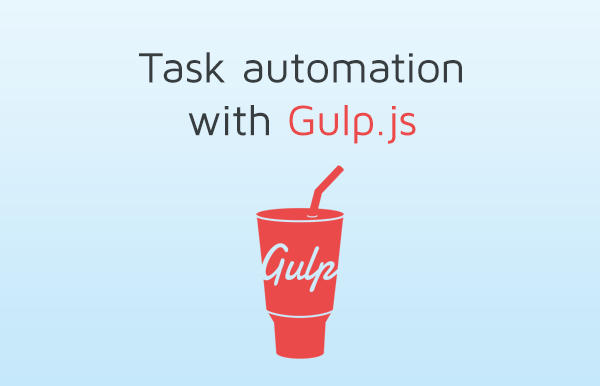 Task automation with Gulp.js
