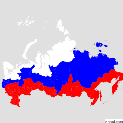 Geomap of Russia