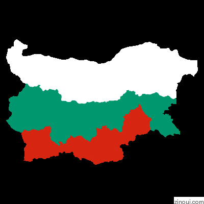 Geomap of Bulgaria